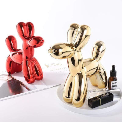 Metallic Balloon Dog Statue imxgine