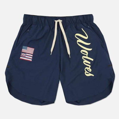 navy blue / L / China Wolf Pack Gym Shorts Electric Solitude