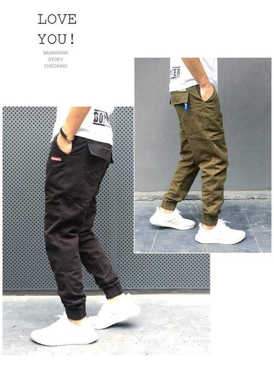 New Streetwear Joggers Electric Solitude