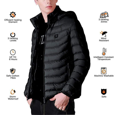 PowerTeam Heated Jacket (12 Hour Charge!) that Dealio