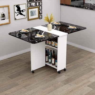 Premier Folding Dining table with Wine Storage imxgine