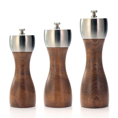 Premium Beech Pepper Mill - Carbon Steel imxgine