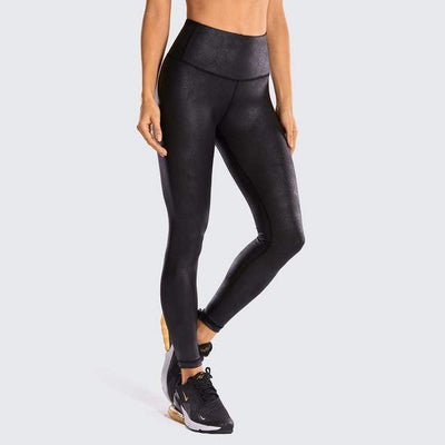 R506-1 Black / L(US8-10) unFAUXgettable Yoga Pants Baron Supply Co