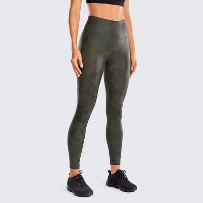 R506-2 Green March / L(US8-10) unFAUXgettable Yoga Pants Baron Supply Co