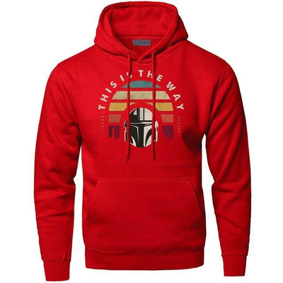 Red 6 / S / China This Is The Way Hoodie imxgine