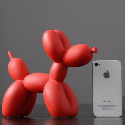 red Balloon Dog Statue imxgine