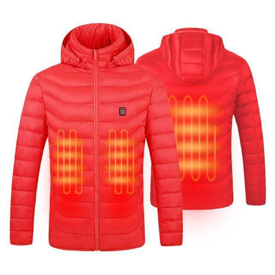 Red Jacket / XXXL PowerTeam Heated Jacket (12 Hour Charge!) that Dealio