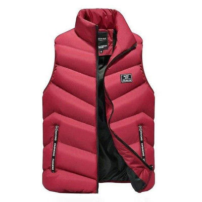 Red / M Marco Polo Down Vest Baron Supply Co