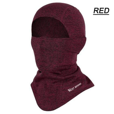 Red Thermal Headwear Electric Solitude