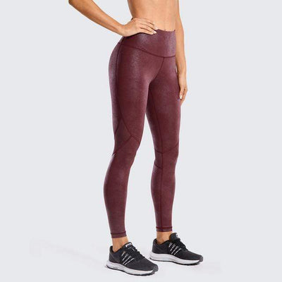 Red04(Mesh) / S(US0-2) unFAUXgettable Yoga Pants Baron Supply Co