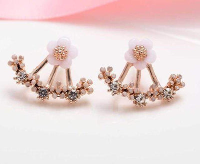 Rose gold Daisy Blossom Earring that Dealio