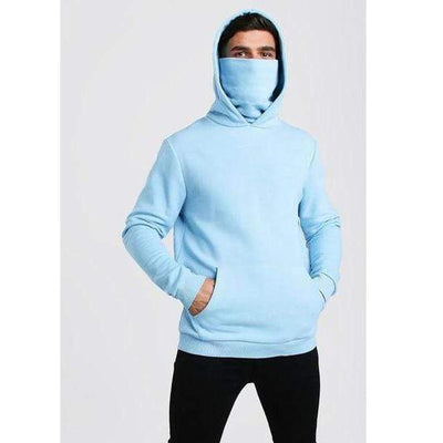 Sky blue / XXL Ready Hoodie in Fleece Electric Solitude