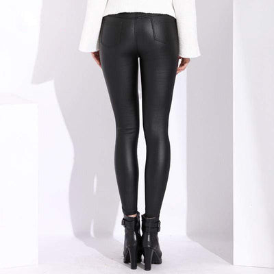 Spunky PU Leather Leggings Baron Supply Co