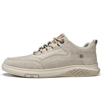 Tan911 / 8 Vast Genuine Leather Sneaker Electric Solitude