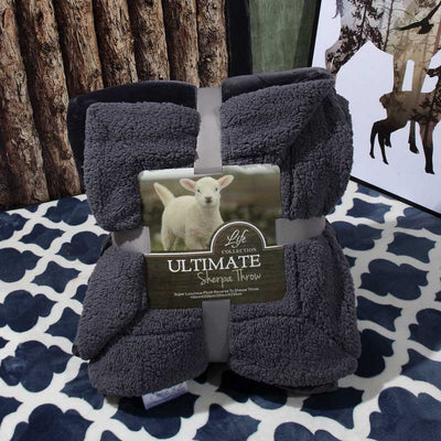 Ultimate Sherpa Throw Electric Solitude