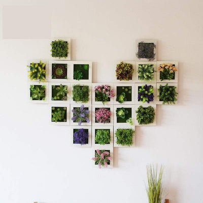 Wall Frames with Artificial Flowers imxgine
