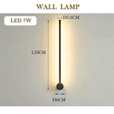 wall lamp 55cm / Warm White (2700-3500K) / golden body Javelin LED Wall Lamp Electric Solitude