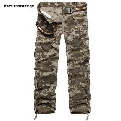 Wave camouflage / 28 McKinney Cargo Pants that Dealio