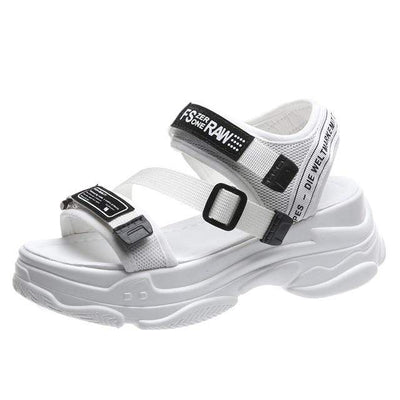 White / 36 New Seoul Sandal Electric Solitude