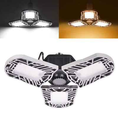 White Light LED Garage Lights Baron Supply Co