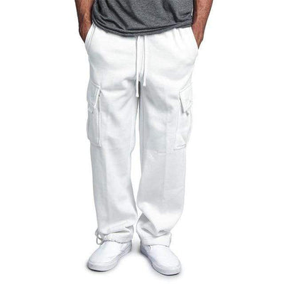 White / M Urban Strides Cargo Sweats that Dealio