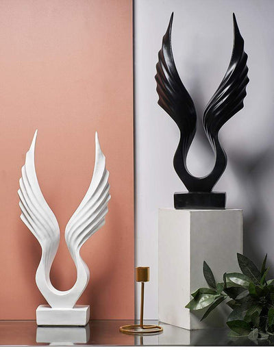 Wings of Hermes Statue imxgine