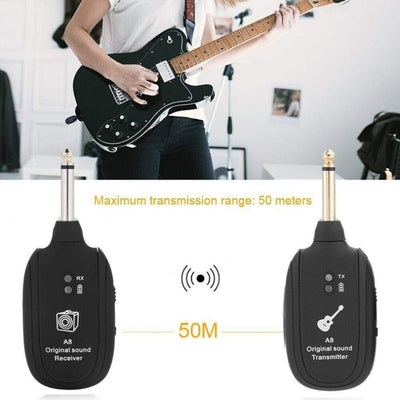Wireless Guitar Transmitter & Receiver imxgine