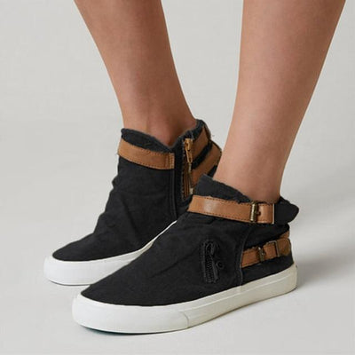 Women's Shoes Black / 5 Chic Canvas Sneakers that Dealio