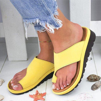 Women's Shoes Yellow / 34 TheraFoam Sandals Baron Supply Co