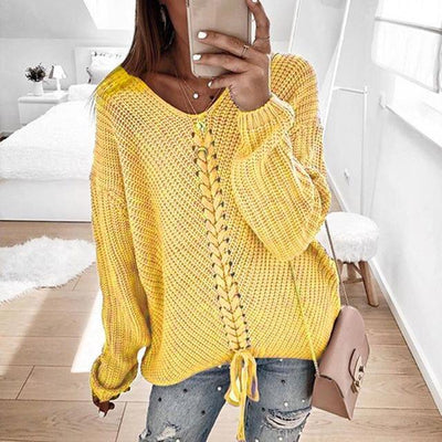 Women's Tops Yellow / M Ronny Knitted Sweater that Dealio