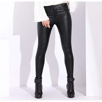 XXL Spunky PU Leather Leggings Baron Supply Co