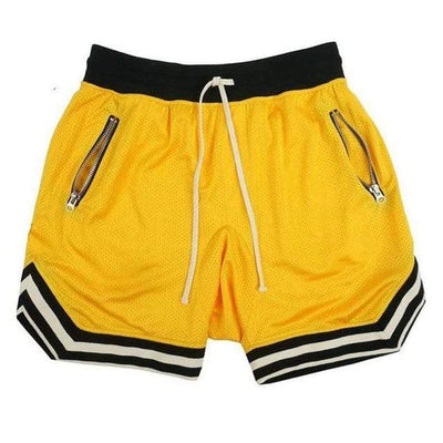Yellow / M 80's Classic Gym Shorts Electric Solitude