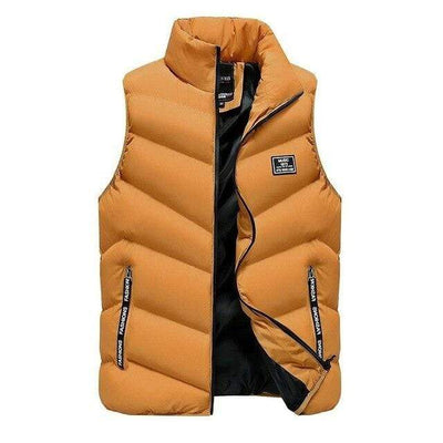 Yellow / S Marco Polo Down Vest Baron Supply Co
