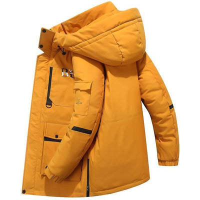 yellow / XL Snowgoose Winter Down Jacket Baron Supply Co