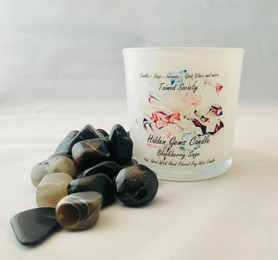 Blackberry Sage Hidden Gems Candle