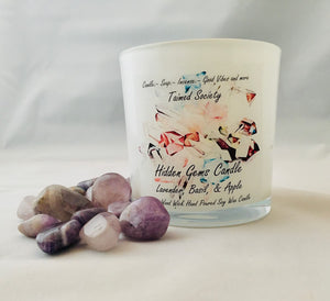 Lavender, Basil, & Apple Hidden Gems Candle