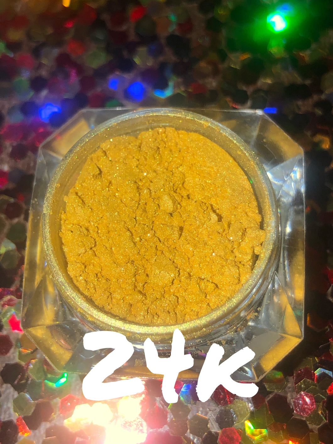 golden 24k highly pigmented loose eyeshadow