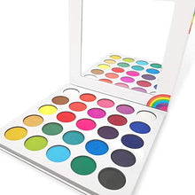 Load image into Gallery viewer, Bright Colors Eyeshadow Palette