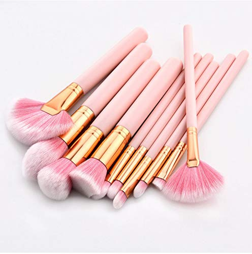 Barbie Pink 10pc Brush Set