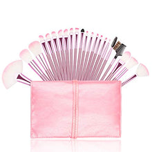 Load image into Gallery viewer, Premium Pink Makeup Brush Set 22pc
