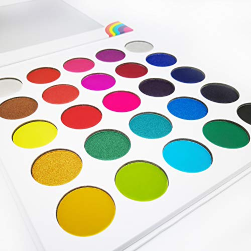 Bright Colors Eyeshadow Palette