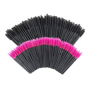200 PCS Disposable Eyelash wands