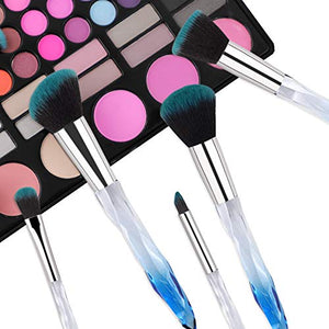 Sapphire Crystal Makeup Brushes