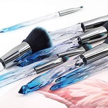 Load image into Gallery viewer, Sapphire Crystal Makeup Brushes