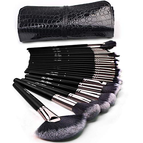 Black Vixen 24pcs Makeup Brushes Set