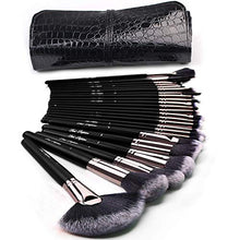 Load image into Gallery viewer, Black Vixen 24pcs Makeup Brushes Set