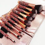 Love Luxury Makeup Brushes Set 10pcs