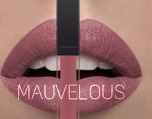 Load image into Gallery viewer, 24hr long wear matte water resistant makeup liquid lipstick nude mauve