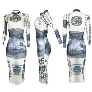 Cash Rules Bodycon