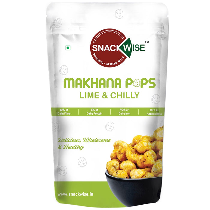 Makhana Pops - Lime & Chilly